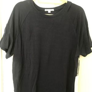 Threads 4 Thought navy cotton shirt (L)